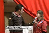 Interview mit Agnes Koreska